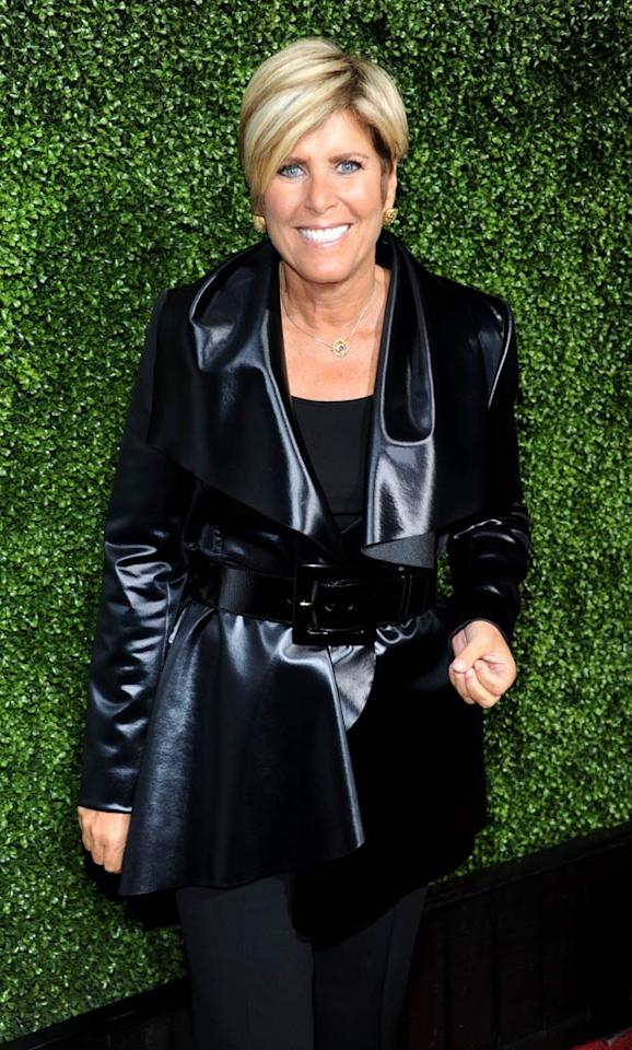 """Financial guru Suze Orman is also getting her """"OWN"""" show tentatively titled """"Money Class,"""" where she will help folks around the country get (what else?) their finances in order. Frazer Harrison/<a href=""""http://www.gettyimages.com/"""" target=""""new"""">GettyImages.com</a> - January 6, 2011"""