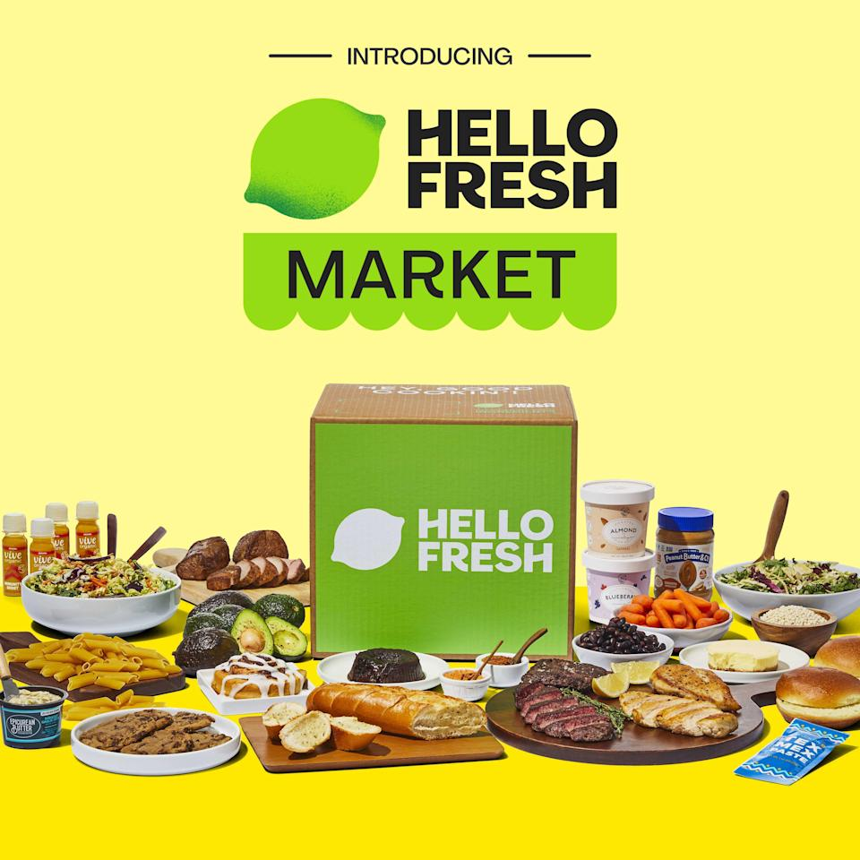 The HelloFresh Market will roll out in the U.S. in the coming months.
