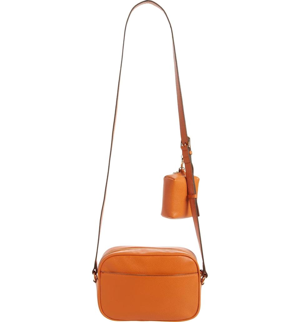 <p>Get the lightweight <span>Nordstrom Margo Crossbody Bag With Accessory Pouch</span> ($99) for long days spent walking in the city. It's made practical with a pouch that you can easily remove or keep to store your keys or AirPods.</p>