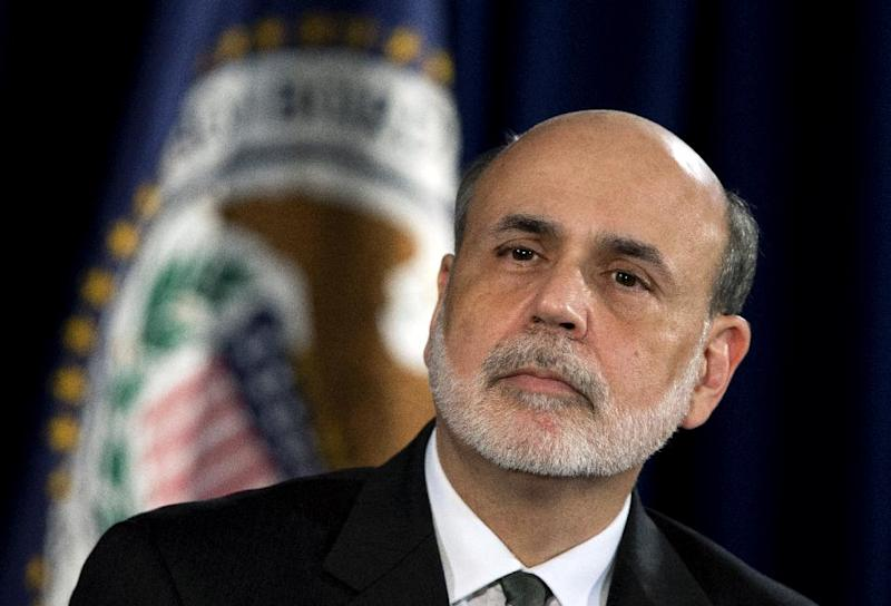 FILE - In this Thursday, Sept. 13, 2012, file photo, Federal Reserve Chairman Ben Bernanke speaks during a news conference in Washington.  Bernanke will give his semiannual report to the Senate Banking Committee on Tuesday Feb. 26, 2013. (AP Photo/Manuel Balce Ceneta, File)