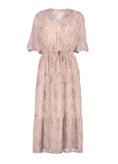 Pink Tiered Maxi Dress from Kmart