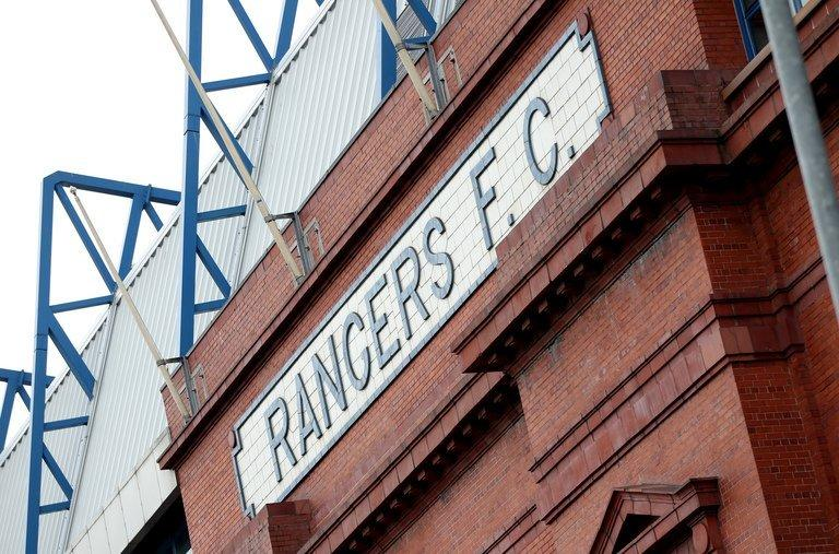 Glasgow Rangers football club, pictured on February 14, 2012