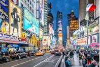 """<p>Due to the ongoing pandemic, Broadway theaters are currently closed. All Broadway performances currently suspended until at least the fall of 2021, though there are numerous ways to support the theater <a href=""""https://www.townandcountrymag.com/leisure/arts-and-culture/g35049361/theater-performing-arts-charities/"""" rel=""""nofollow noopener"""" target=""""_blank"""" data-ylk=""""slk:right here"""" class=""""link rapid-noclick-resp"""">right here</a>. </p>"""