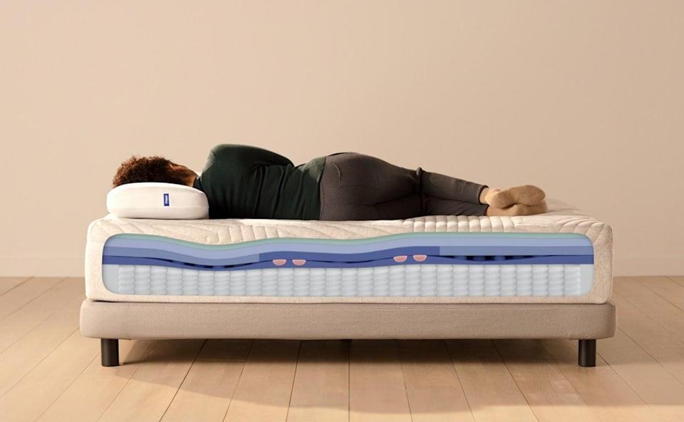 """<p>""""I tried the <span>Casper Wave Ergonomic Mattress</span> ($1,356-$2,631, originally $1,595-$3,095), and I swear to you, I feel like an entirely new person. I have more energy every day, all because I changed what I'm sleeping on. Oh, and those back aches? They're entirely gone. I look forward to climbing into bed, and I rarely ever wake up in the middle of the night anymore. It feels like laying on a cloud. If you're a hot sleeper, have back pain, or just need to upgrade your mattress, I can't stress enough that this is the best addition ever made to my bedroom. It has changed my life (and my mood)."""" - Macy Cate Williams, senior editor, Shop</p> <p>If you want to read more, here is the <a href=""""https://www.popsugar.com/home/casper-wave-hybrid-mattress-review-48032139"""" class=""""link rapid-noclick-resp"""" rel=""""nofollow noopener"""" target=""""_blank"""" data-ylk=""""slk:Casper Wave Ergonomic Mattress"""">Casper Wave Ergonomic Mattress</a> review.</p>"""