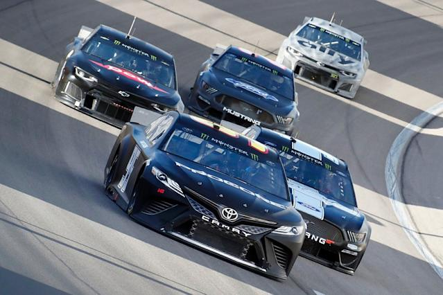 NASCAR hits back at Busch '19 package criticism