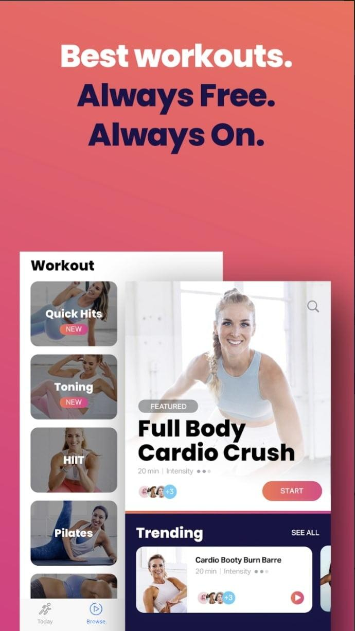 best free workout apps for ios and android fiton app2
