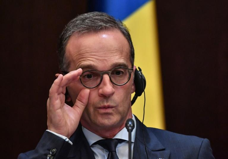 "Germany's Foreign Minister Heiko Maas branded US President Donald Trump's  policy towards Europe ""irritating"" during a visit to Bucharest"