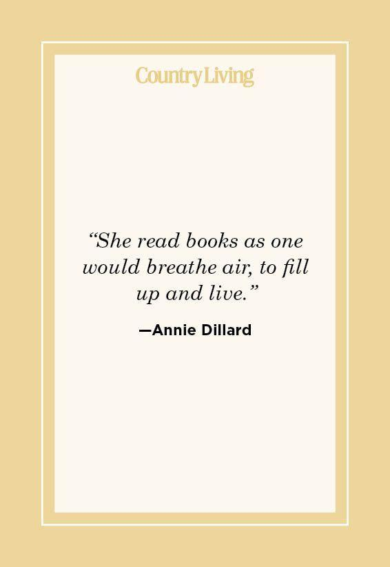 """<p>""""She read books as one would breathe air, to fill up and live."""" </p>"""