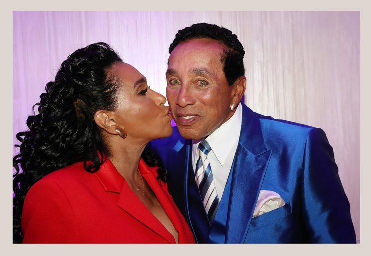 Frances Glandney Robinson and Smokey Robinson
