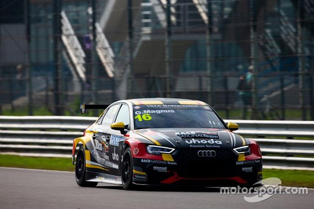 "Gilles Magnus, Comtoyou Racing Audi RS 3 LMS <span class=""copyright"">TCR Media</span>"