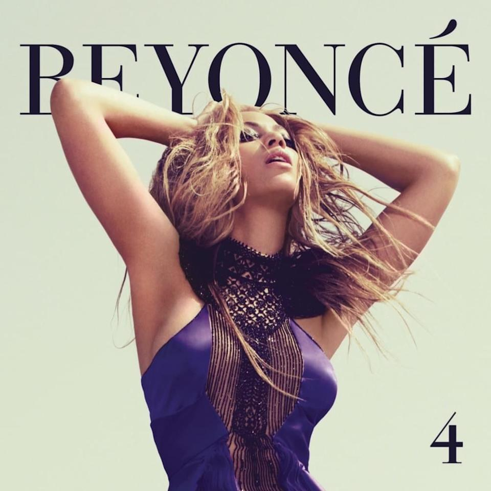 """<p>Summer 2011 was huge for Beyoncé. Not only did she become the <a href=""""https://www.beyonce.com/glastonbury-2011-2/"""" target=""""_blank"""" class=""""ga-track"""" data-ga-category=""""Related"""" data-ga-label=""""https://www.beyonce.com/glastonbury-2011-2/"""" data-ga-action=""""In-Line Links"""">first woman to headline Glastonbury</a> in 12 years, but she also dropped her groundbreaking fourth studio album, <strong>4</strong>. The release marked the end of her <a href=""""https://www.popsugar.com/celebrity/photo-gallery/44470582/image/44470573/Beyonc%C3%A9-Became-Sasha-Fierce"""" class=""""ga-track"""" data-ga-category=""""Related"""" data-ga-label=""""https://www.popsugar.com/celebrity/photo-gallery/44470582/image/44470573/Beyonc%C3%A9-Became-Sasha-Fierce"""" data-ga-action=""""In-Line Links"""">Sasha Fierce era</a> (as well as her <a href=""""https://www.rollingstone.com/music/music-news/beyonce-drops-her-father-as-manager-242525/"""" target=""""_blank"""" class=""""ga-track"""" data-ga-category=""""Related"""" data-ga-label=""""https://www.rollingstone.com/music/music-news/beyonce-drops-her-father-as-manager-242525/"""" data-ga-action=""""In-Line Links"""">management ties to father Mathew Knowles</a>) and the beginning of a new phase. The LP <a href=""""https://www.billboard.com/articles/news/469358/beyonce-notches-4th-billboard-200-no-1-with-4"""" target=""""_blank"""" class=""""ga-track"""" data-ga-category=""""Related"""" data-ga-label=""""https://www.billboard.com/articles/news/469358/beyonce-notches-4th-billboard-200-no-1-with-4"""" data-ga-action=""""In-Line Links"""">debuted at No. 1 on the <strong>Billboard</strong> 200 list</a>, and <strong>The New Yorker</strong> ranked it as <a href=""""https://www.newyorker.com/culture/culture-desk/the-best-music-of-2011-the-american-singers"""" target=""""_blank"""" class=""""ga-track"""" data-ga-category=""""Related"""" data-ga-label=""""https://www.newyorker.com/culture/culture-desk/the-best-music-of-2011-the-american-singers"""" data-ga-action=""""In-Line Links"""">the best album of 2011</a>. Its standout tracks include """"Love on Top,"""" """"Countdown,"""" """"1+1,"""" and, of course, the <"""