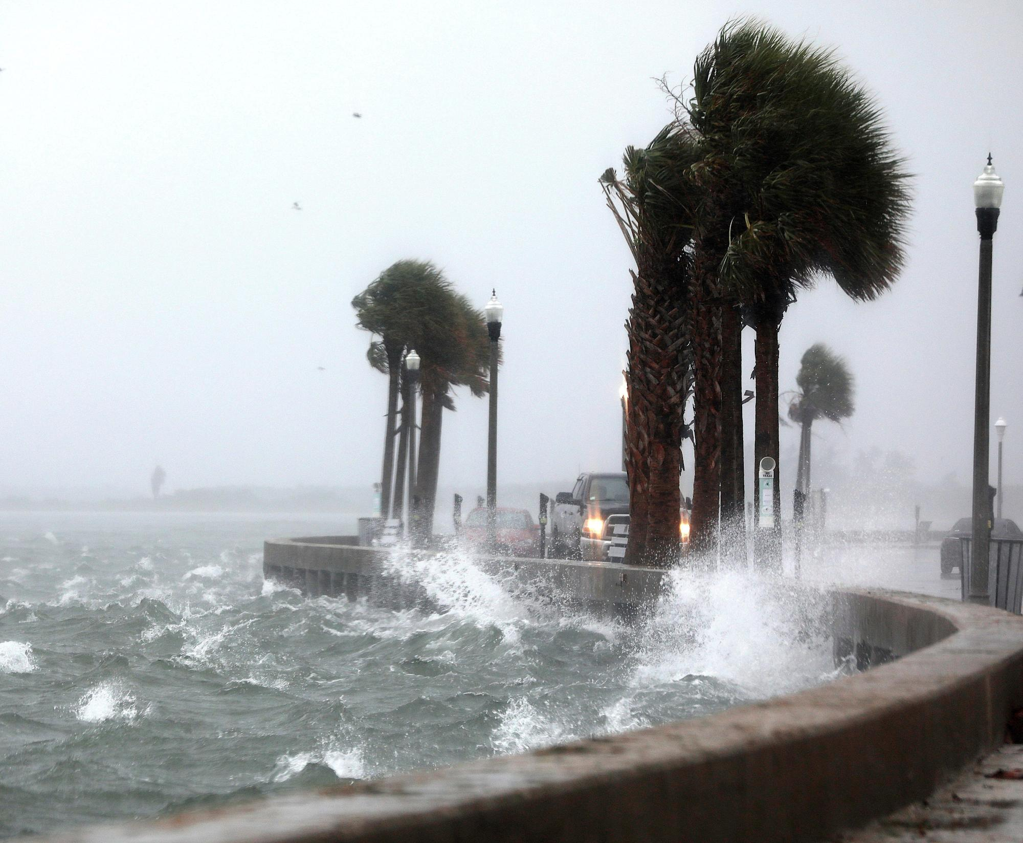 Storm Eta: Watch live from Florida shores tropical storm nears fourth landfall