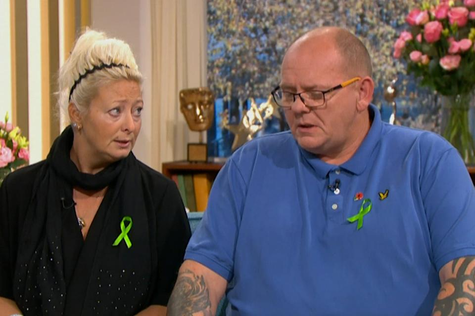 Harry Dunn's parents Charlotte Charles and Tim Dunn have campaigned for justice for their sonITV
