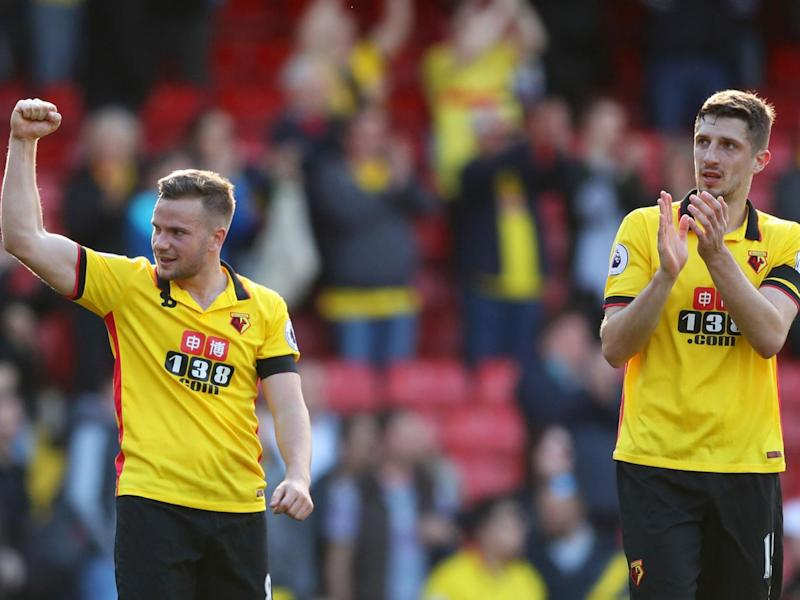 Watford now sit in tenth with 34 points to their name (Getty)