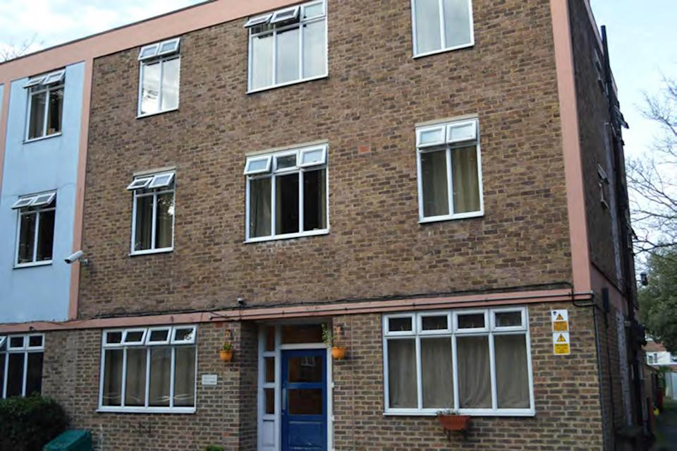Sudesh Amman's probation hostel in Streatham, south London, where he lived for ten days following his release from prison (Metropolitan Police/PA) (PA Media)