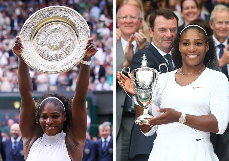 Serena eyes first Wimbledon as mother