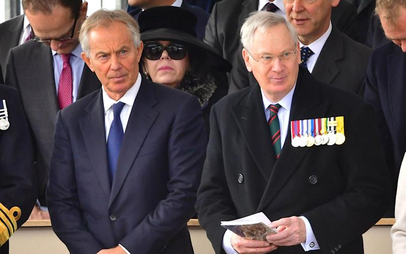 Tony Blair, the former Labour Prime Minister came under fire for appearing at the service - Credit: Dominic Lipinski