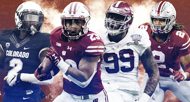Who are the most intriguing players this college football season? (Yahoo Sports illustration)