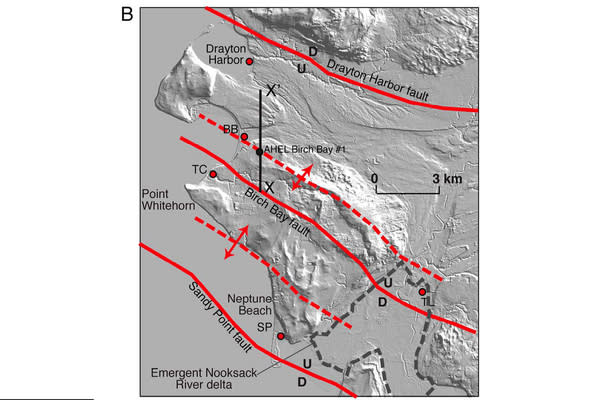 New Faults, and Earthquake Risks, Found in Washington