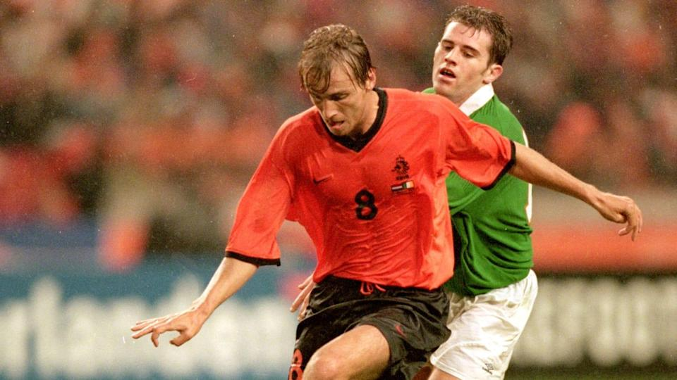 Richard Witschge, Kevin Kilbane | Mark Thompson/Getty Images