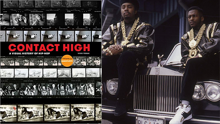 Best gifts for brother: Contact High: A Visual History of Hip-Hop