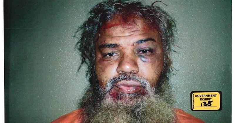 Ahmed Abu Khatallah photographed after his capture.  (Government exhibit)