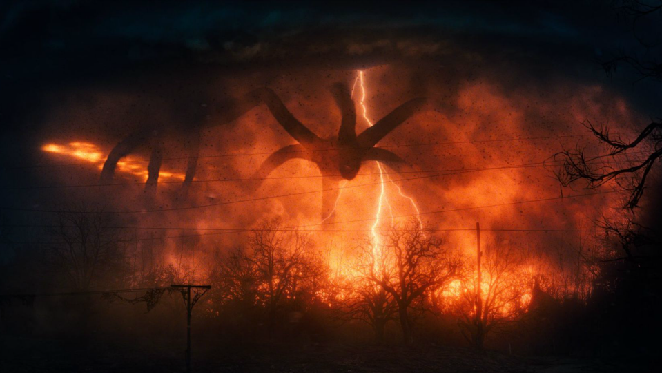 The Mind Flayer in Stranger Things 2
