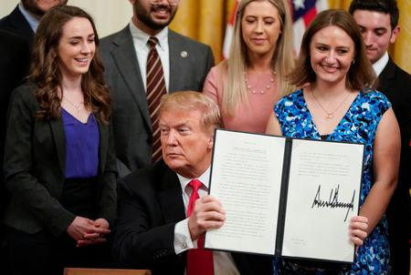 Trump Signs Executive Order To Preserve Free Speech On College Campuses