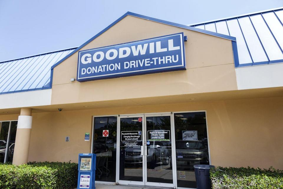 """<p>""""This is a solid Goodwill. If you want to get started thrifting without breaking the bank. We went there to pick up quick essentials that were going to be higher quality than that of Wal-Mart,"""" <a href=""""https://www.yelp.com/biz/goodwill-industries-brookings"""" rel=""""nofollow noopener"""" target=""""_blank"""" data-ylk=""""slk:Liz M"""" class=""""link rapid-noclick-resp"""">Liz M</a>.</p><p><strong>Visit the store</strong>: 625 Main Ave, Brookings, SD </p>"""