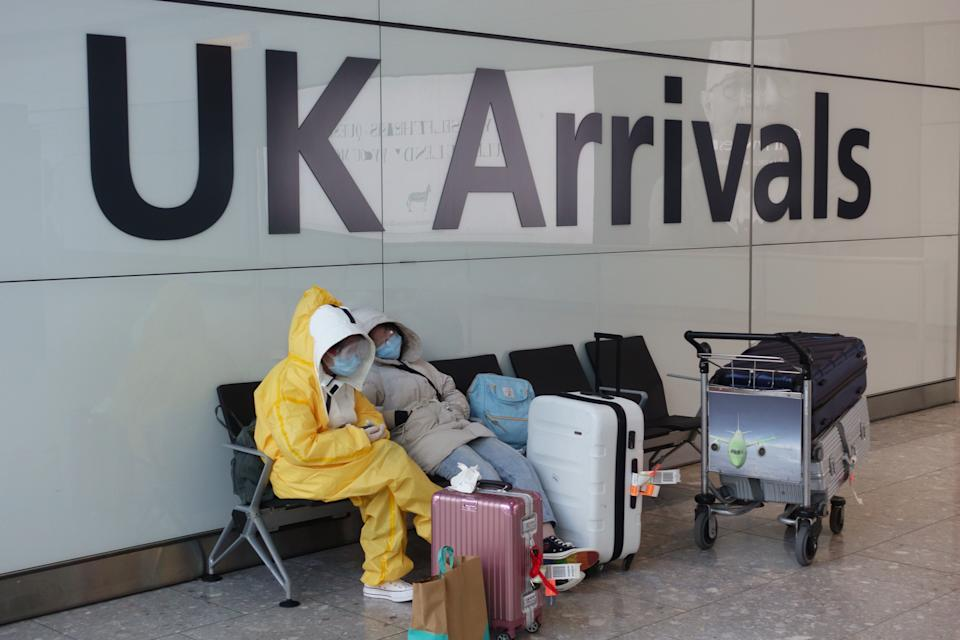 One in five of those surveyed by the ONS have cancelled their overseas travel plans due to the risk of 14 day quarantine.