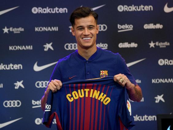 Coutinho left Liverpool for Barcelona in January 2018 (Getty Images)