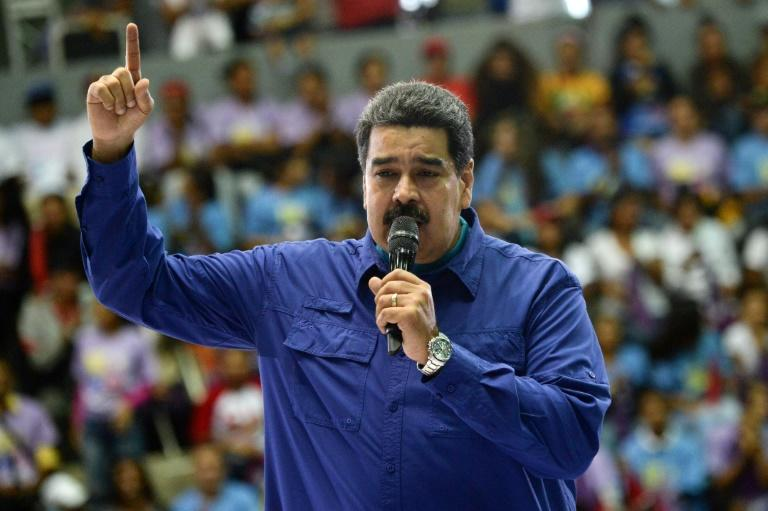 The government of Venezuelan President Nicolas Maduro is take to taks in a human rights report for a sharp deterioration in democratic rights in his country