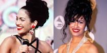 """<p>""""I just soaked up everything, I watched every interview that I could,"""" Lopez said <a href=""""https://www.caller.com/story/entertainment/people/selena/2019/04/04/jennifer-lopez-reveals-details-how-she-prepared-selena-quintanilla-movie-apple-music-show/3365781002/"""" rel=""""nofollow noopener"""" target=""""_blank"""" data-ylk=""""slk:in an interview"""" class=""""link rapid-noclick-resp"""">in an interview</a> with Beats 1 on Apple Music about how she prepared for the role of the famous Tejano singer. """"I slept in her bed at home. I slept at her sister's house. I talked to the whole family. I spent time with them. It can be melancholy and beautiful at the same time."""" </p>"""