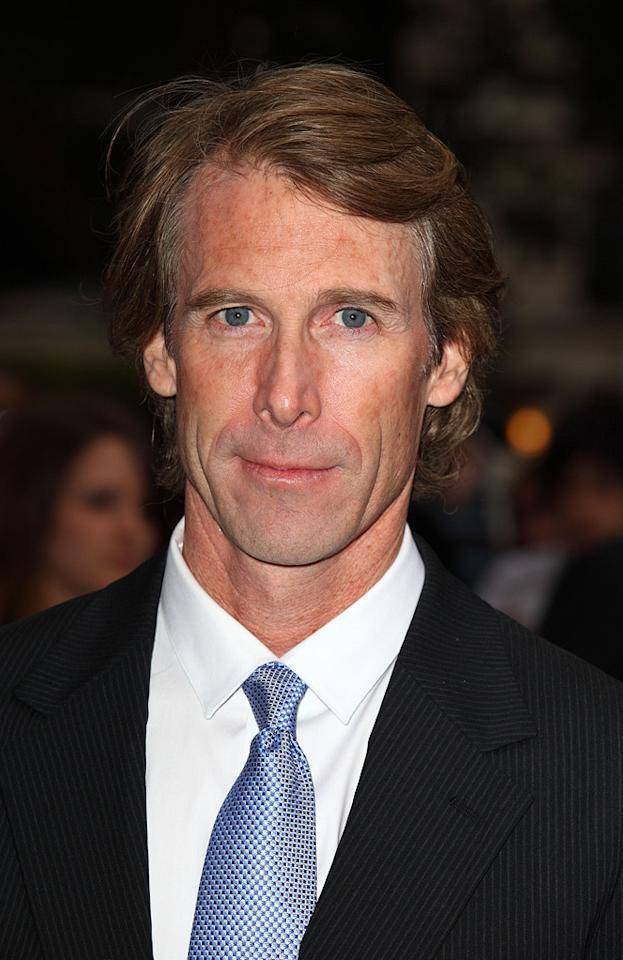 """<a href=""""http://movies.yahoo.com/movie/contributor/1800020334"""">Michael Bay</a> at the London premiere of <a href=""""http://movies.yahoo.com/movie/1809943432/info"""">Transformers: Revenge of the Fallen</a> - 06/15/2009"""