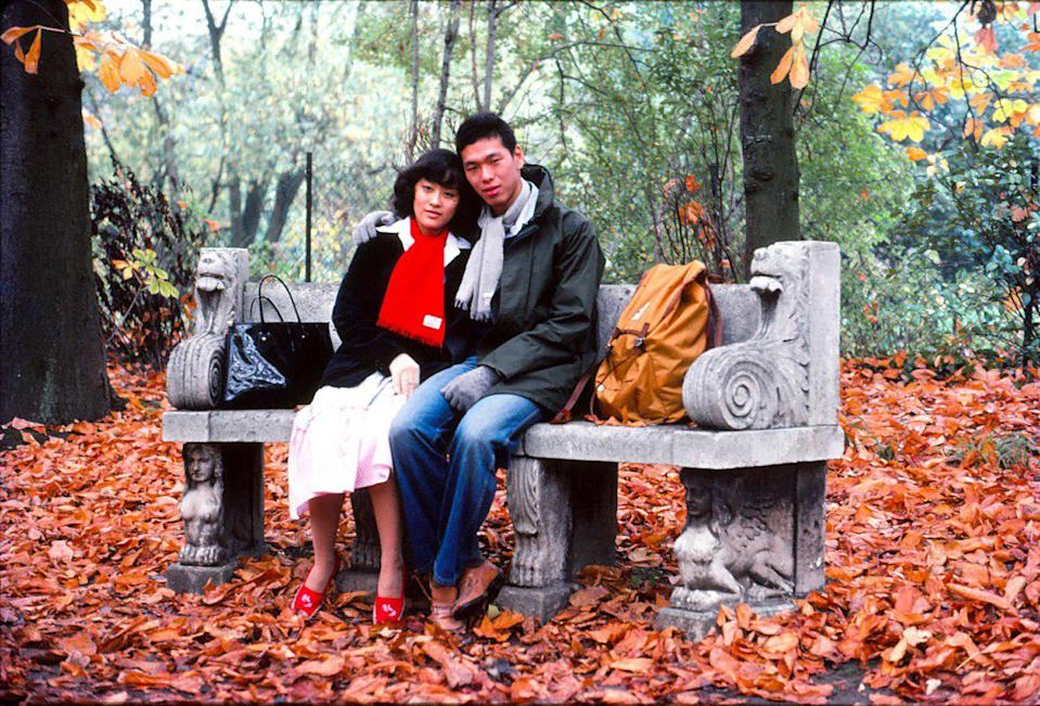 Lee Suet Fern and Lee Hsien Yang at Cambridge in 1977, four years before their wedding. PHOTO: Lee Hsien Yang