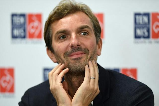 French Fed Cup captain Julien Benneteau has kept faith with the same team that beat Romania in the semis (AFP Photo/Christophe ARCHAMBAULT)