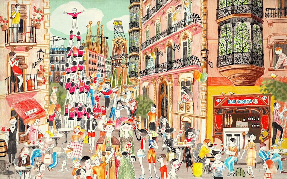 Barcelona goes into full party mode in September - This content is subject to copyright.