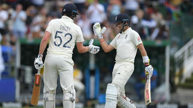 England seized control of the second Test with a composed performance on Sunday, Dom Sibley the star of the show in Cape Town.