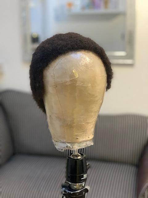Another wig made from a donation of real Afro hair (Raoul Wigmakers)