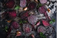"""<p>Beets are one of those vegetables that seem to divide folks. Like <a href=""""https://www.countryliving.com/food-drinks/g4657/best-brussels-sprouts-recipes/"""" rel=""""nofollow noopener"""" target=""""_blank"""" data-ylk=""""slk:Brussels sprouts"""" class=""""link rapid-noclick-resp"""">Brussels sprouts</a> and <a href=""""https://www.countryliving.com/food-drinks/g32969162/frozen-spinach-recipes/"""" rel=""""nofollow noopener"""" target=""""_blank"""" data-ylk=""""slk:spinach"""" class=""""link rapid-noclick-resp"""">spinach</a>, you either love them, or you feel they were put on earth to annoy you. But we firmly believe that, at least when it comes to beets, the haters are simply misinformed. If you aren't a fan of the earthy, bright red, über-sweet orbs, then chances are it's because you haven't had a chance to try a really well prepared version.</p><p>Good beets should start out fresh—forget the canned stuff. They should be firm when you buy them, and not soft to the touch. When making <a href=""""https://www.countryliving.com/food-drinks/recipes/a860/oven-roasted-beets-51/"""" rel=""""nofollow noopener"""" target=""""_blank"""" data-ylk=""""slk:oven-roasted beets"""" class=""""link rapid-noclick-resp"""">oven-roasted beets</a>, give them a good scrub with a brush, then go ahead and roast them whole—the skins will magically slip right off when they're done. Then cut them into quarters, dress them with a little olive oil and salt, and you have a side that pairs well with pork, chicken, or steak.</p><p>But of course you don't <em>have</em> to simply roast them. Case in point: these dozen-plus recipes. From extra-simple salads to wow-worthy hummus, we've gathered our favorite beet recipes from here and around the web. You can go all-out and smoke beets for a glazed salad with goat cheese that would fit at the fanciest dinner party, or simply toss a few under a roast chicken, for a meal that practically cooks itself. But whatever you do, be sure to buy extra: These recipes are so good you'll find yourself wanting to make them regularly.</p>"""