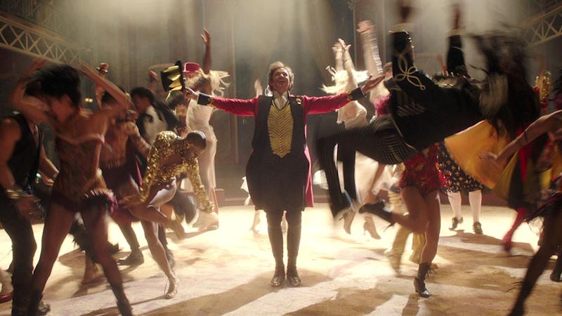 Hugh Jackman is PT Barnum in this lavish new musical (20th Century Fox)