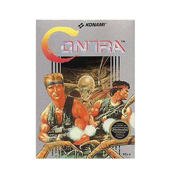 <p>Konami's famous cheat code (up, up, down, down, left, right, left, right, b, a, start) got used a lot when this commando video game arrived on the NES in 1988. This code put in before the credits would give you 30 extra lives, and allowed you to really make some headway in this game. </p>