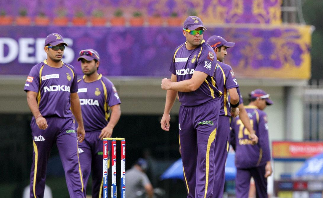Kolkatta Knight Riders player Jacques Kallis during match 60 of the Pepsi Indian Premier League between The Kolkata Knight Riders and the Royal Challengers Bangalore held at the JSCA International Stadium Complex, Ranchi, India on the 12th May 2013. (BCCI)