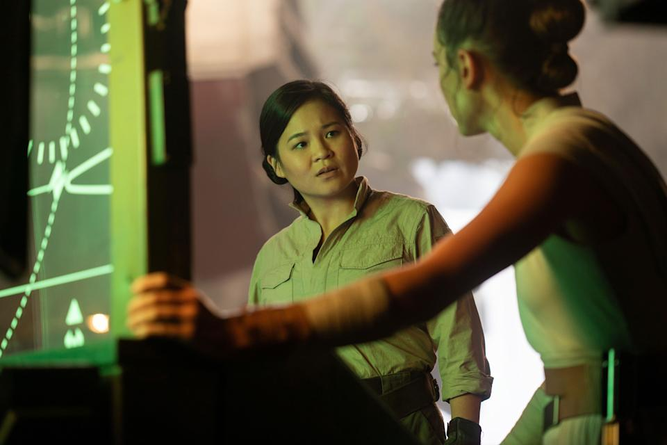 Rose Tico (Kelly Marie Tran) would have played a much bigger role in the original Episode IX script, 'Due of the Fates' (Photo: Jonathan Olley / © Walt Disney Studios Motion Pictures / © Lucasfilm / courtesy Everett Collection)