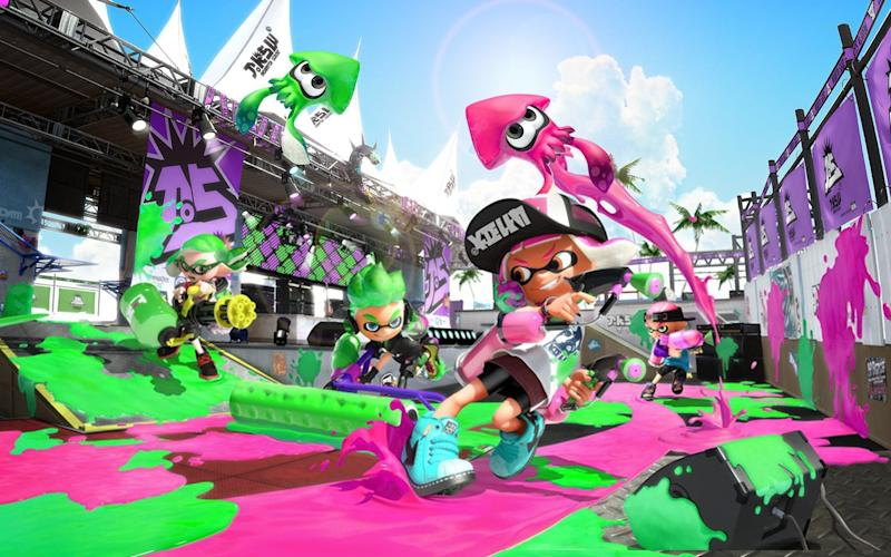 Nintendo's ink-based online shooter, Splatoon 2 will be unplayable without subscribing to the new online system - Nintendo
