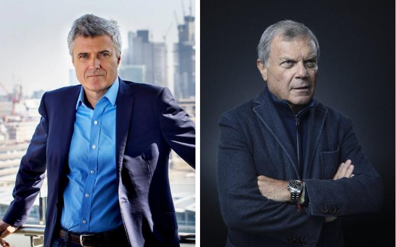 Mark Read, left, has been named as WPP's new chief executive after Sir Martin Sorrell resigned earlier this year
