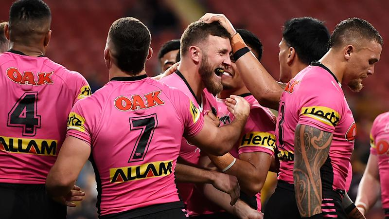 Penrith are optimistic Kurt Capewell will be able to capably stand in for the suspended Viliame Kikau against South Sydney. (Photo by Albert Perez/Getty Images)
