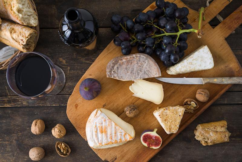 Yes, this is a staged photo, but your cheese platter can (almost) look this good! (Photo: Westend61 via Getty Images)