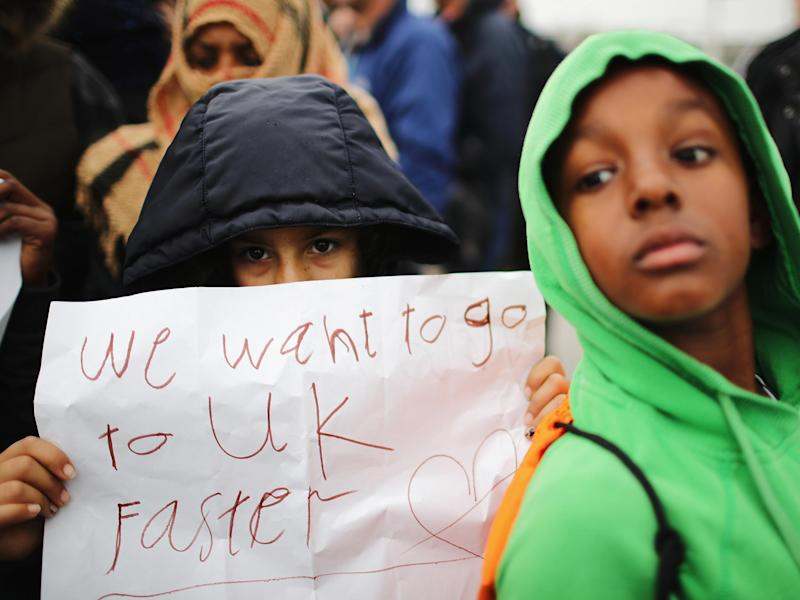 Home Office admits 'administrative error' led to 130 places for child refugees pledged by a UK region go unaccounted for: Getty