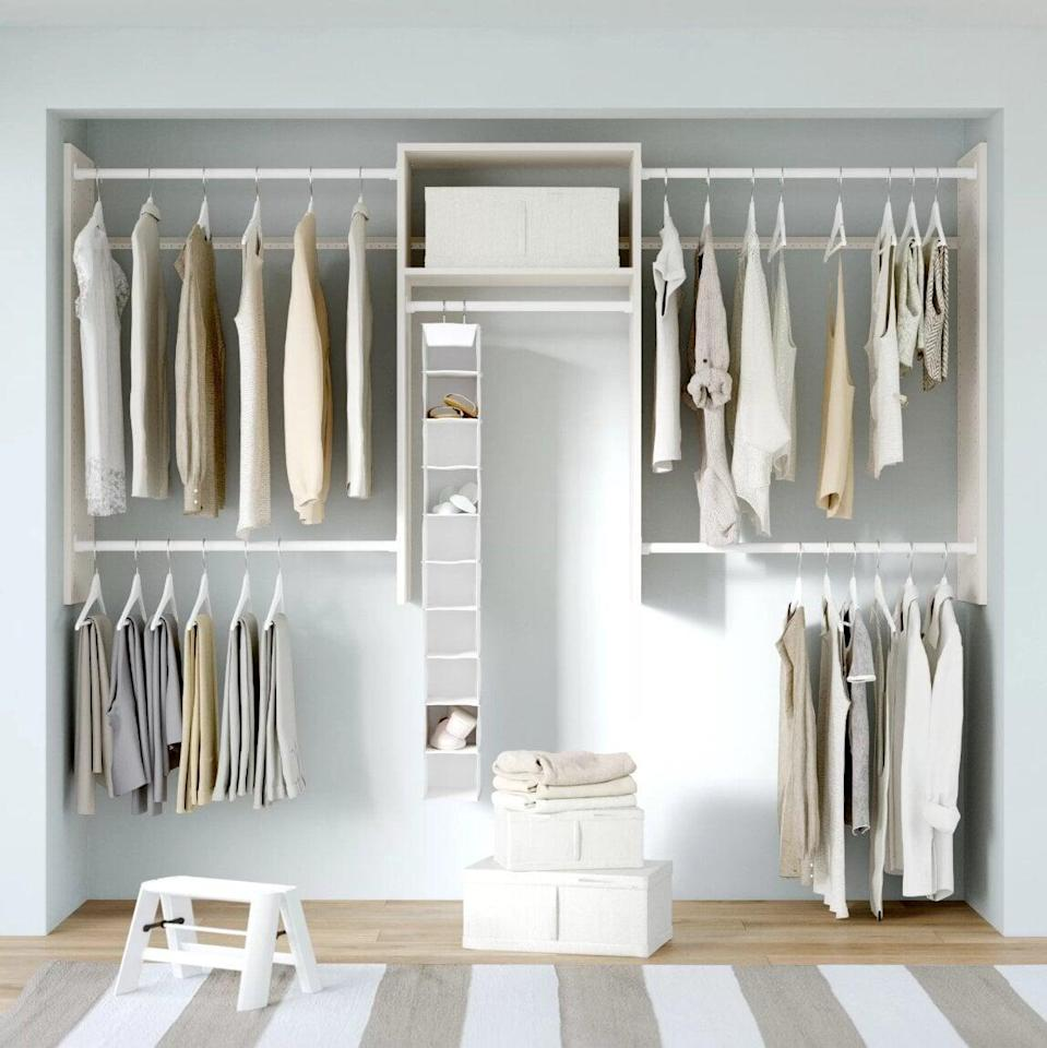 <p>This <span>Dotted Line Grid Closet System Starter Kit</span> ($129, originally $145) is a great deal!</p>